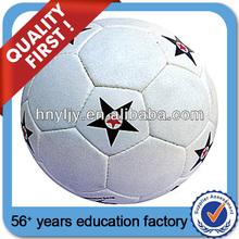 tamaño y peso oficial promocional de fútbol del pvc