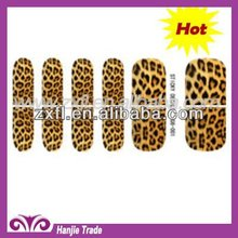 2012 Hot and Latest Leopard prints nail foils art fingernail patch decoration