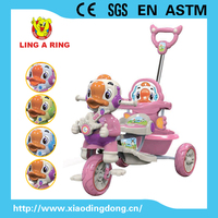 2015 hot sale High quality New model with Duck shape children tricycle