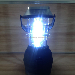 hot sale super bright led solar rechargeable lantern with mobile phone charger