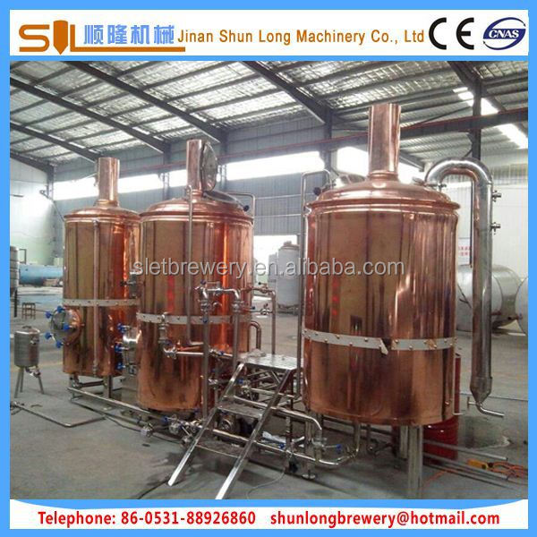 Tailor made mash tun brew kettle craft beer equipment for Craft kettle brewing equipment