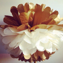 ~~New Arriva~~Mix Color Tissue Paper Pom poms Flower Ball For Halloween Decoration