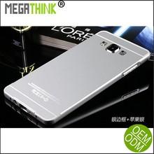 A7 Case Aluminum Bumper + Plastic Back Cover for Samsung Galaxy A7 Phone Cases