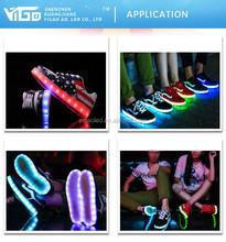Washable led shoe light for shoes and running