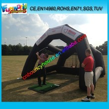 Best quality inflatable game inflatable golf net/ golf field for game