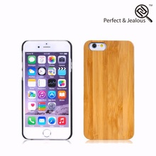 OEM packing Engraving cell phone wood cover for iphone6