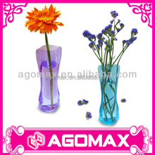 Promotional portable folding decorated flower pots