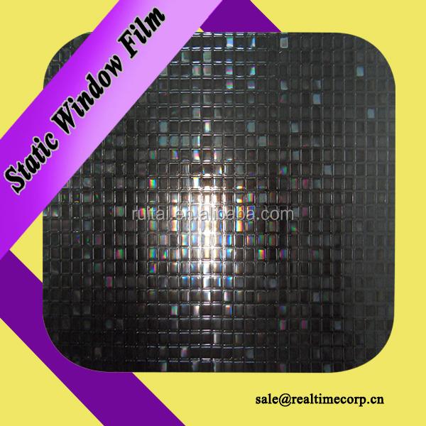 3d statique vinyle fenêtre feuille