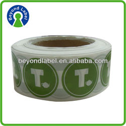 High quality cheap custom printing lipton yellow label tea for adhesive outdoor stickers