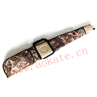 Camouflage military hunting tactical gun bag with front pocket gun case