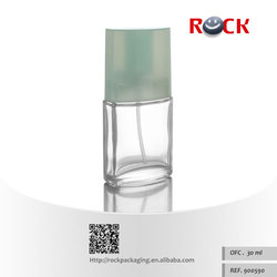High quality China CE/ISO 30ml clear glass perfume bottle with cap_101580