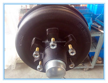 """Trailer axle square 50x50mm solid steel complete with nut ,pin&dust cap, fit with 10"""" electric brake"""