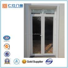 Cheap Price Renshi Brand Aluminum Front Double Door Designs