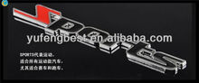 Emblema pino rótulo emblemas, cristal carro emblemas, emblemas de carros e letras
