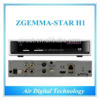 Zgemma-star H1 fta dvb-c Satellite TV digital satellite receiver frequency