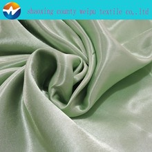 100% bright polyester satin woven fabric