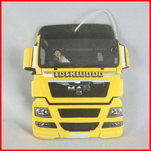 Yellow color truck shape car air freshener made in china