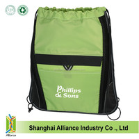 Custom made useful and practical sport bags with draw string