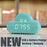 FREE Fedex ! new product launch in china expensive alarm clock, cloud clock expensive