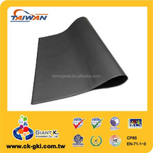 High Quality Customized magnetic sheet rubber magnet