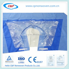 Fashionable Hospital Medical sterile disposable Shoulder Drape with Low price