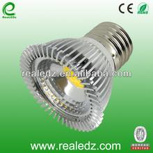 E27 MR16 CE ROHS 5W COB led spotlight replace 50w Philips and OSRAM halogen