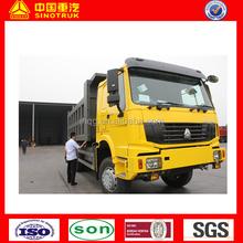 sinotruck howo dump truck 340hp Euro 4 new model for sale