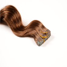 Grade 7a Double Drawn Russian Tape Extensions,16 18 20 Inch Russian Tape Hair Extensions,Remy Blonde Tape Extensions