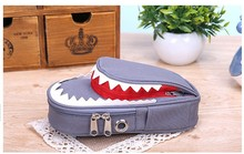 High quality Students pen bag Shark Style Kids Pencil Case For Boys Pouch Bag Student Pen Box For Primary School Bag Accessory