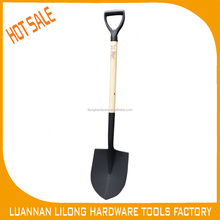 All Types of Wood Handle and PVC Grip Steel Shovel