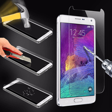 Mobile Phone Screen Protector for Samsung Note 4 Wholesale Tempered Glass Price