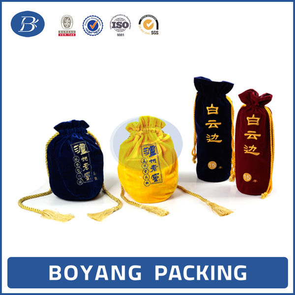 High end luxury wine bottle bag wine bag