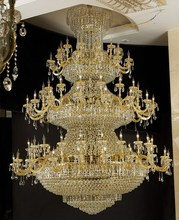 Lobby decorative luxury crystal chandelier,high-end led light