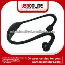 MINI S9-HD S9HD High Definition Stereo Back-hang Wireless Bluetooth Headphones Headse Black