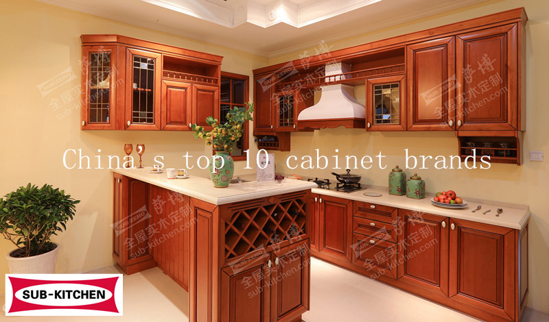China cheap wood kitchen cabinet buy china kitchen for Inexpensive wood kitchen cabinets