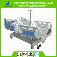 BT-AE023 Four wheels 4 abs siderail icu advanced icu patient bed icu bed ce iso fda