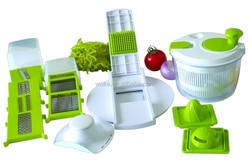 Prepworks Plastic Chew Salad Spinner & Chopper