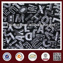 2015 new style ponte roma fabric discharge print in China manufacturer