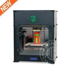 Dual heads 3D Printer Build Size 26*20*20CM with 2 kg filament retail price USD1599/set