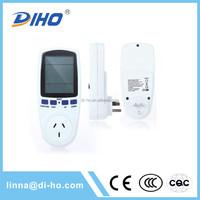 home application dc fiber optic stop digital power meter