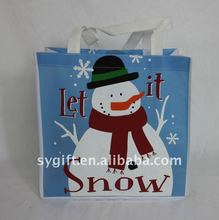 new fashion non woven bag with lamination for shopping