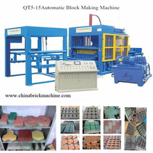 QT5-15 hollow block machine/TOP BRAND WITH factory price concrete brick making machine for cement brick plant