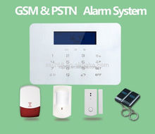 Wireless Home Security Safe House Alarm System GSM+PSTN dual network burglar alarm system Android & IOS APP