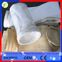 PTFE coated fiter glass dust collector filter bag