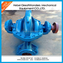 Axial split single stage double Suction Centrifugal water Pump