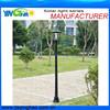 solar garden lighting landscape pole light for yard,park or garden