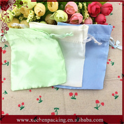 Luxury Fashion Customized Handmade Satin Mobile Phone Pouch From China