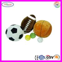 D397 Soft Baseball, Rugby Ball, Football, Basketball Stuffed Ball Plush Toys