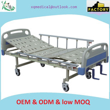Manual bed the most popular emergency hospital bed with two functions for icu bed