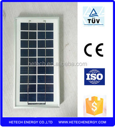 Polycrystalline 5w solar panel price india on alibaba china